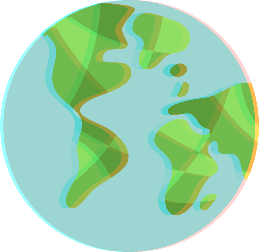 Globe illustration